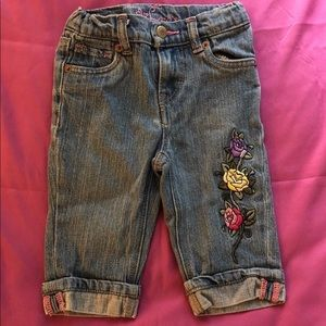LEVIS JEANS EMBROIDERED 3T